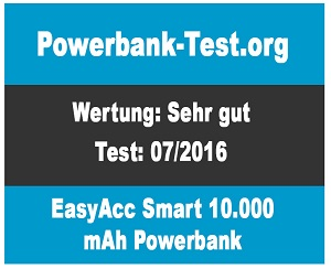 EasyAcc-Smart-10000mAh-Powerbank-Testurteil