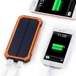 Solar-Powerbank-15000mAh-Testbericht